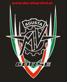 Duc Shop Tirol - MV Agusta Corse Aufkleber