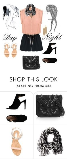 """""""Day to Night: Rompers"""" by gagenna ❤ liked on Polyvore featuring Tory Burch, Alexander McQueen, GE, STELLA McCARTNEY, Calvin Klein, Capwell + Co, DayToNight, AlexanderMcQueen, ToryBurch and StellaMcCartney"""