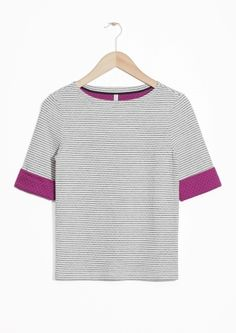 & Other Stories | Dot And Stripe Top
