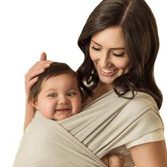 Seven Sling Baby Infant Wrap Carrier Multiple Ways Lbs -Gray- Baby Sling Wrap, Baby Wrap Carrier, Baby Shop Online, Baby Hands, Baby Wraps, Baby Essentials, Baby Care, Cute Babies, Infant