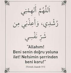 #Allahım #beni #semin #doğru #yoluna #ilet #nefsimin #şerrinden #koru #amin #dua #hayırlıcumalar #ilmisuffa