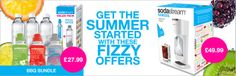 SodaStream Bank Holiday weekend celebration and get our BBQ bundle!
