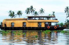 10 Bedroom House, Book Boat, Luxury Houseboats, Upper Deck, Kerala, Tours, Travel, Holidays, Viajes