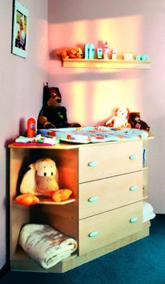 Faktum Nelli light room Corner changing cupboard / Nelli sarokpelenkázó