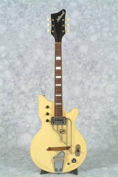 Vintage 1962 National Westwood 72 Electric Guitar