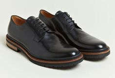 Dries Van Noten leather oxfords, $514