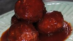 Mix ground smoked ham, sausage and beef together with milk, eggs and graham cracker crumbs for a new spin on meatballs. Form into balls and bake in a tangy sauce of tomato, vinegar, brown sugar and mustard powder.