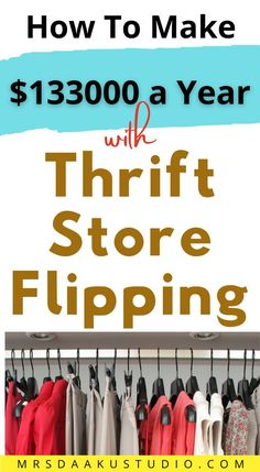 If you have to sell something online and make money what it would be? ever wondered? There are people whose full-time job is all about thinking what to resell to make money online, looking for items in yard sales, flea markets, thrift stores etc. Learn more to know about thrift stores. Free Money Now, Make Money Fast, Make Money From Home, Legit Work From Home, Legitimate Work From Home, Work From Home Jobs, Bookkeeping Training, Bookkeeping Business, Earn Money Online Fast