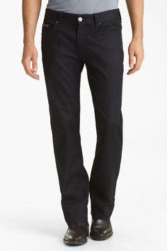 Slim Straight Leg Jeans (Indigo Dark Rinse)