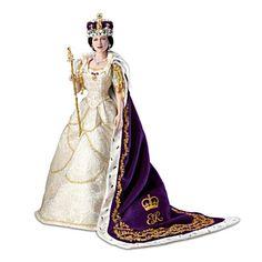 Queen Elizabeth II Coronation Portrait Doll... new from Ashton Drake Galleries.....