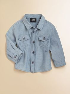 D&G Junior  Infant's Cotton Chambray Shirt  $72