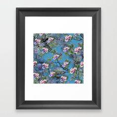 Jacaranda Blooms in purple, pink, rose, on tree-leaves Framed Art Print by justkidding Blue Texture, Tree Leaves, Lavender Color, Framed Art Prints, Pink Purple, Bloom, Graphic Design, Wall Art, Rose