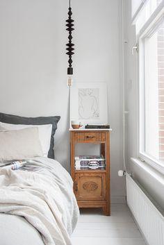 Apartment Living, Bedroom Decor, Linen Bedroom, Bedroom Lighting