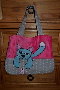 le sac renard du livre en piste revisité en sac chat