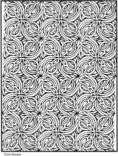 Welcome to Dover Publications / Creative Haven Lotus Designs Coloring Book / Alberta Hutchinson Pattern Coloring Pages, Coloring Book Pages, Printable Coloring Pages, Coloring Sheets, Doodle Coloring, Mandala Coloring, Coloring Pages For Grown Ups, Lotus Design, Swirl Design