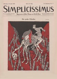 Simplicissimus magazine, 25 July 1916