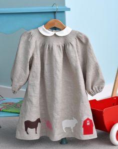 Sewing Applique Patterns: Modern Farm Set (Small). $7.00, via Etsy. // claradeparis.com ♥