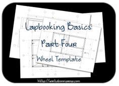 How to Write for Homeschoolers: Lapbooking Part Four-Wheel Template - WriteBonnieRose.com