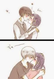 Kiss Kaneki X Touka <3 Forever Love :3 0///0