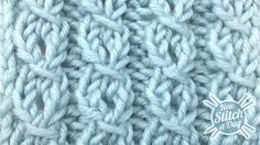 How to Knit the Eyelet Mock Cable Ribbing Stitch
