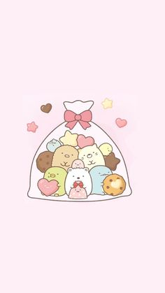 super Ideas for drawing cute doodles cartoon Cute Kawaii Drawings, Kawaii Doodles, Cute Doodles, Kawaii Art, Sanrio Wallpaper, Kawaii Wallpaper, Kawaii Illustration, Cute Wallpaper Backgrounds, Wallpaper Iphone Cute