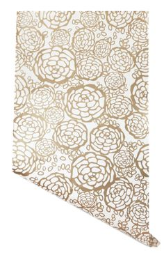Petal Pusher Gold Wallpaper at Hygge and West