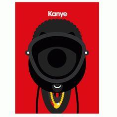 Kanye by Craig Redman