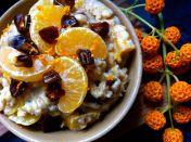 Date & Satsuma Porridge