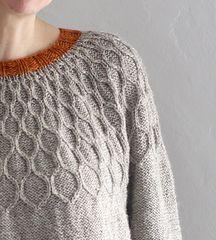 Ravelry: Marmalade Sweater pattern by Anna Elliott