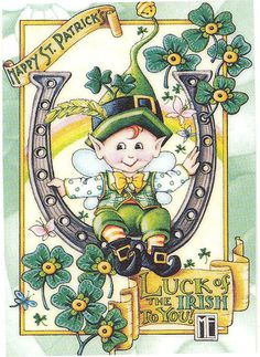 St. Patrick's Day print by Mary Engelbreit!