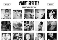 #WhatIsPretty? Beyoncé is inviting you to share what pretty means to you, one image, video, and caption at a time.   Upload your photos and videos with the hashtag #WhatIsPretty to see them on http://whatispretty.com/