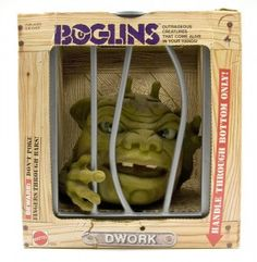 I remember me and my friends having Boglins and walking around trying to scare girls when they least expected it. The toys from when i was younger seem so . 1980s Toys, Retro Toys, Vintage Toys, Antique Toys, 90s Childhood, My Childhood Memories, Old School Toys, School Stuff, 80s Kids