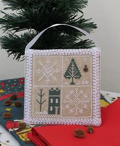 pattern in Just Cross Stitch 2011 Ornament issue