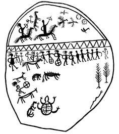 Dessins chamaniques et espace virtuel dans le chamanisme khakasse - Charles Stépanoff