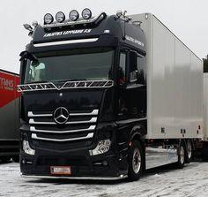 Truck Mercedes Benz Actros