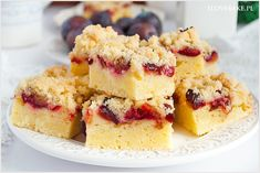 Tender and full of sweet corn flavor, this Sour Cherry Chia Jam Cornbread is perfect weekend dessert. It's made with all HEALTH ingredients, refined sugar-free, and moderate in calories. Perfect for BBQ, holiday table or any celebration. Cranberry Coffee Cake Recipe, Cranberry Cake, Cranberry Recipes, Sour Cream Chocolate Cake, Sour Cream Coffee Cake, Best Cookie Recipes, Cake Recipes, Dessert Recipes, Köstliche Desserts