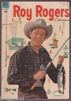 1954 Dell Comics ROY ROGERS #81 vintage western comic book