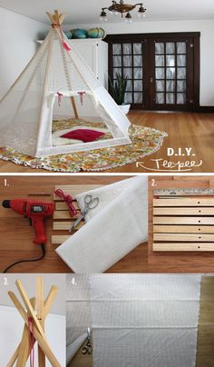 How to make your own play teepee | Exciting for kids to enjoy | DIY Crafts | Detailed procedure.