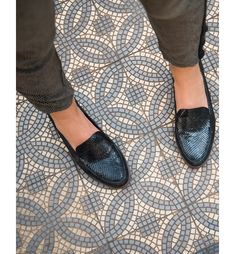 c69555d5e0998f Mocassin Mairesse Serp - Derbies et Mocassins - La collection - Noir
