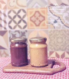 Borboletando | Nutella Wannabe e Pasta de Amendoim ~homemade~ | http://borboletando.com.br