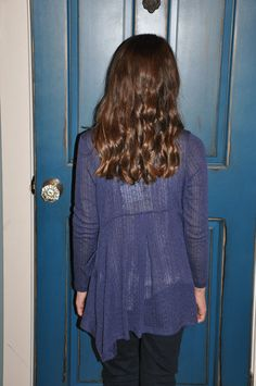 Picture of Navy Cardigan By Mena Mae Children's Boutique  $ 47.00