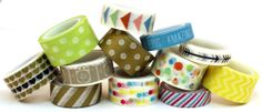 My Minds Eye Record It Washi Tapes 2nd set.  ONLY $7.99 at www.peachycheap.com!