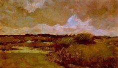 Винсент Ван Гог - Болотистый ландшафт (1883)