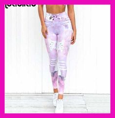 Gym Ropa Yoga Pants Printing Sports Leggings Fitness Running Tights Women  Breathable Quick Dry Sportwear mallas c4493d1d10103