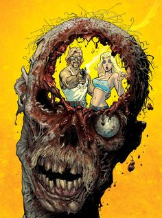 XXXombies cover by Tony Moore