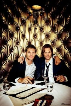 Unfortunately #NOT Jensen Ackles or Jared Padalecki's bodies. Just the faces. It's a great manip.