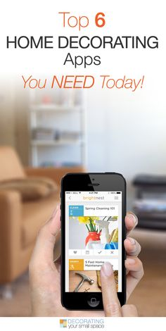 Top 6 Home Decorating Apps You Need Today! • We searched the internet and found some great home decorating apps for you!