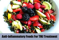 Anti-Inflammatory Foods For TMJ Treatment