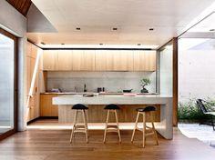 Beach Ave - Modern - Kitchen - Melbourne - by schulberg demkiw architects