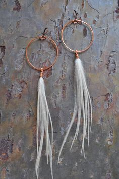 The Hungry Ghost II by JadeStoneJewelry on Etsy. | These are so pretty and they look really easy to make—next project!
